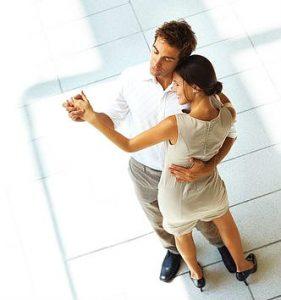 waltz dancing in Vienna