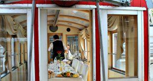 dinner waggon at Giant Ferris Wheel