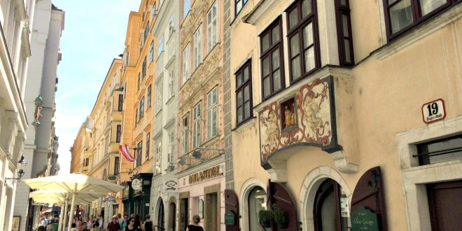 Vienna City Guide: Naglergasse