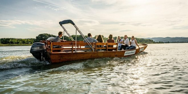 boat trip on Austrian Danube