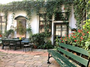 Courtyard of Deutschordenshaus in Vienna