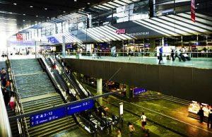 Vienna Central Station, interior