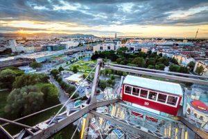 View from Vienna Ferris Wheel