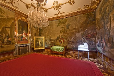 French Wars: Napoleon Room at Schonbrunn Palace