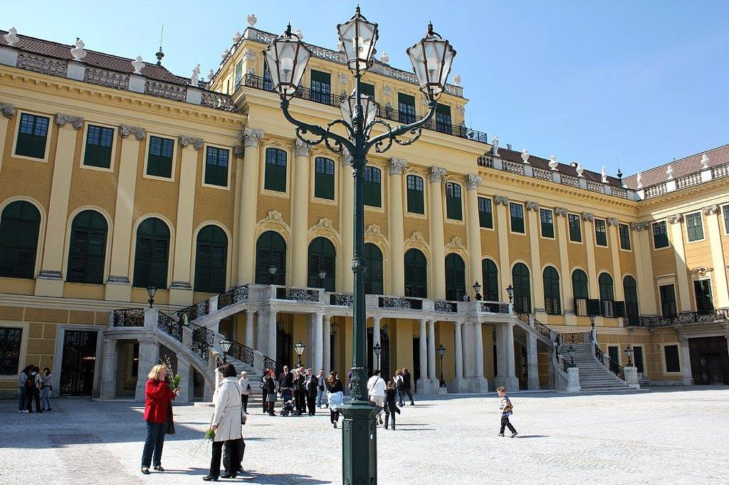 Austria Capital: Vienna's Schonbrunn Palace