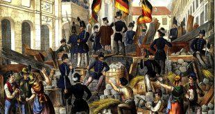 Barricade at Vienna University 1848, Werner F.