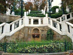 Strudlhofstiege in Vienna Alsergrund