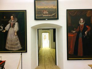 ancestors paintings at Forchtenstein