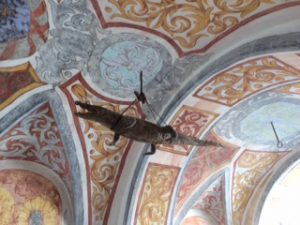 Forchtenstein castle: crocodile