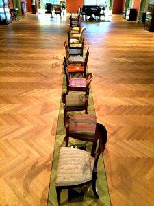 Biedermeier chairs at MAK