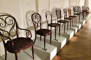 Thonet chairs at Museum of Applied Arts in Vienna